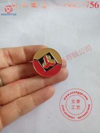 上色徽章,设计公司logo胸章,西服胸针,镂空徽章