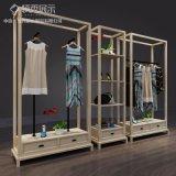 服装展示架厂家定制 服装展示道具供应商 领秀服装展示柜靠墙展示柜挂衣陈列货架