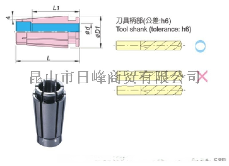 ACROW臺灣丸榮NR高速筒夾NR10AA-4