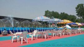 移动水上乐园是我们夏季非常高利润的项目