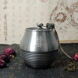 純錫坊純錫茶葉罐馬來西亞普洱茶罐定制禮品廠家直銷