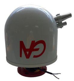 共安ZDMS0.6/5S-GA 消防水炮 自动跟踪定位射流灭火装置 大空间智能消防水炮 自动扫描射水灭火装置