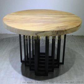众美德创意北欧实木桌椅组合,餐厅餐桌椅,订购包邮