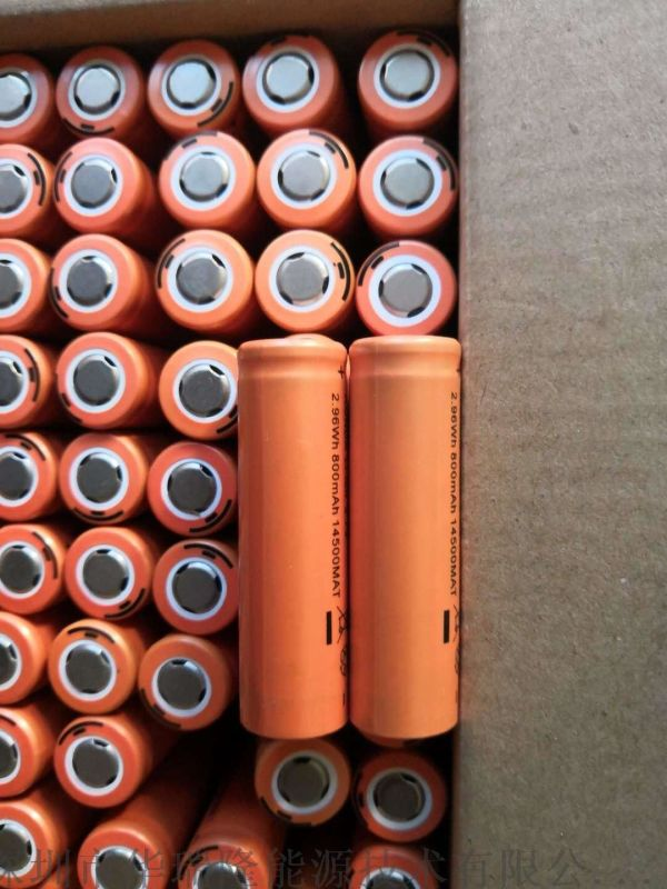 电动工具电池14500-800mah3.7V**电池