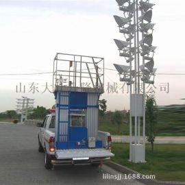 山东大壮升降平台 车载铝合金式升降机