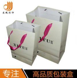 创意手拎袋,定制白卡纸袋,服装手提纸袋