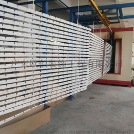 工厂直销铝格栅 白色格子铝天花