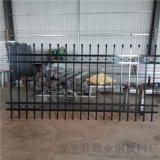 工厂锌钢栏杆 工地锌钢围墙护栏 大型工业基地围栏