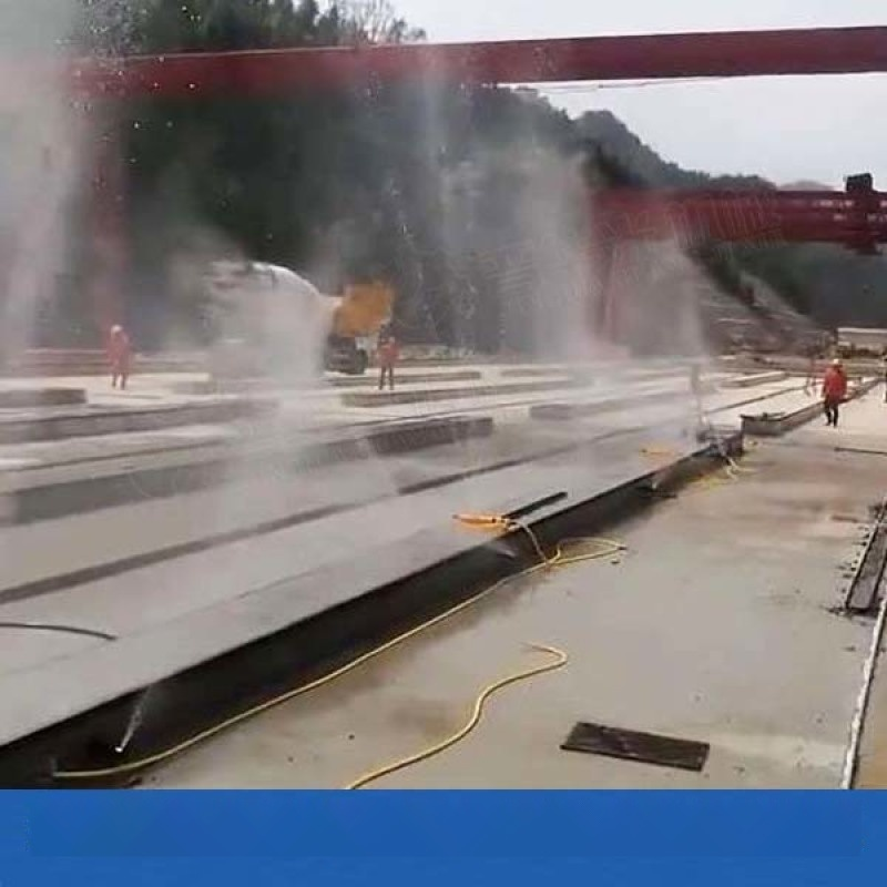 寧夏固原樑場智慧噴淋養護系統主機 視頻