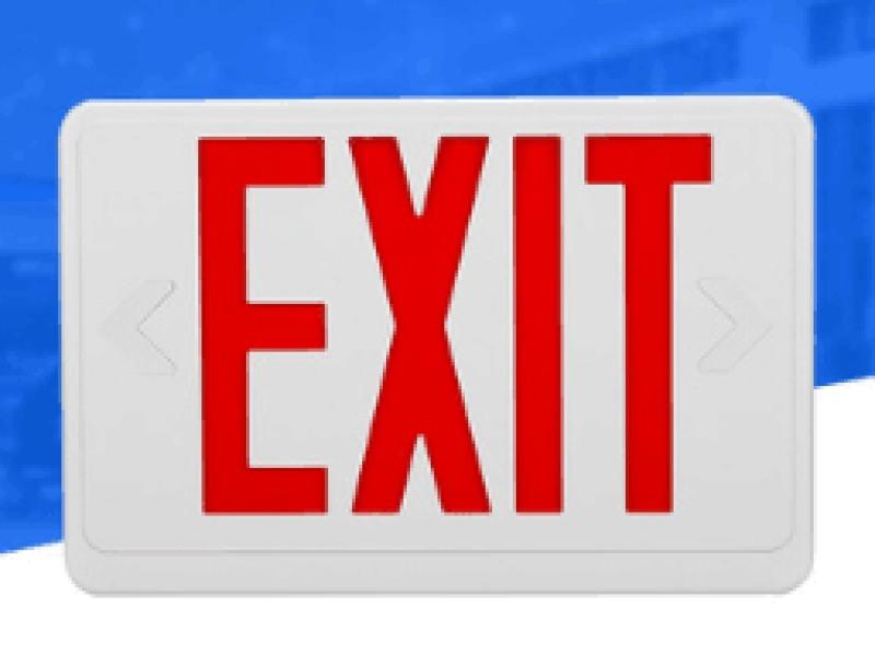 应急疏散指示灯箱, 高亮度5W外贸出口CE认证