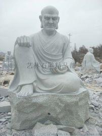 青石十八罗汉佛像石雕  金刚
