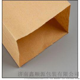 厂家直销定制牛皮纸袋 现货磅袋食品纸袋