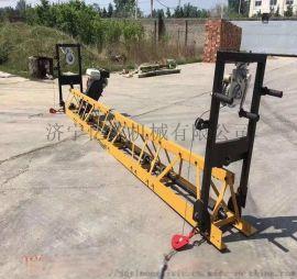 水泥路面振动梁汽油混凝土框架式整平机