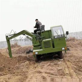 3吨到8吨随车吊挖一体机厂家 四不像挖吊一体机