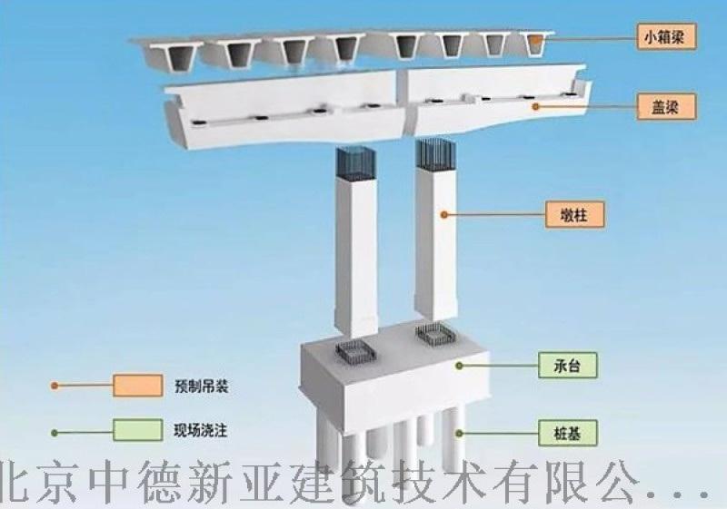 預製拼裝橋樑墩柱專用灌漿料