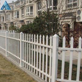 小区绿化带草坪护栏/pvc花池围栏