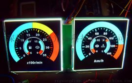 车载码表仪表LCD液晶显示屏厂家定制TN, HTN, FTN, VA等断码屏