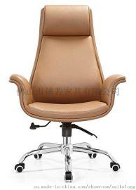 时尚皮椅  五金皮椅 经理主管椅  佛山办公椅