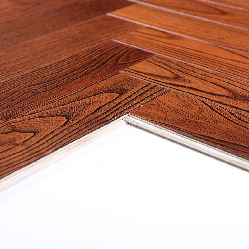 金刚柚木实木多层复合拼花地板艺术复古工装家装背景墙