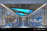 臥室造型鋁方通 形象牆造型鋁方通 吊頂鋁方通