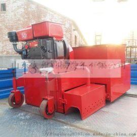 就地生产!柴油拦水带成型机马路牙子成型机