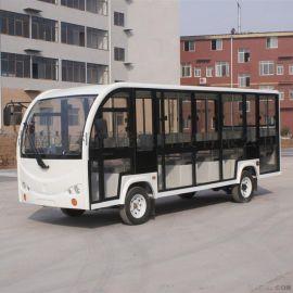 18座封闭式电动观光车,旅游爬山车
