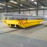 搬運化工零件清洗機軌道平車 過跨軌道平板車 電動小型平板車