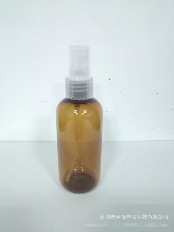 深圳厂家供应PET100ml瓶100ml圆方瓶100ml洗发水瓶100ML喷雾瓶