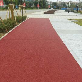 桓石HP1008 彩色透水地坪 彩色透水地坪施工 彩色透水地坪除垢 环氧透水地坪