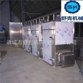 诸城舒克专业生产熟食店用小型熟食熏蒸炉 电加热熏烤炉50公斤