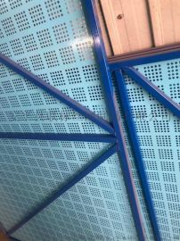 广州爬架网厂家 楼宇防护网 安平爬架