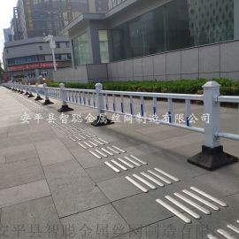市政护栏厂家 PVC市政护栏 铁艺市政护栏网