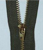 现货供应 3号铜齿铜头裤门襟拉链 金属拉链厂家直销