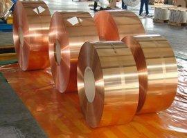 c5210镀锡磷铜线。镀金c5191磷铜带