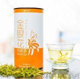 花茶包装纸罐 高质量UV印刷圆形包装盒 义合益花茶纸罐