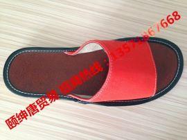 夏季真皮皮拖鞋居家室內男女牛皮託鞋情侶地板韓國防滑涼拖鞋