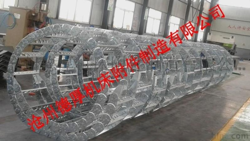 涂装设备专用钢铝拖链 钢制拖链