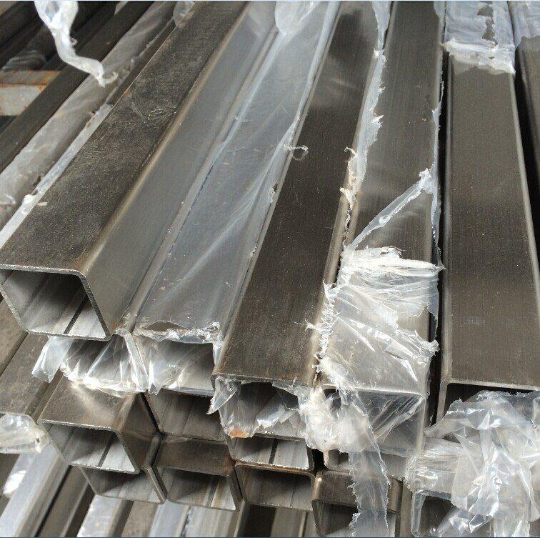 上海304不鏽鋼管 北京拉絲不鏽鋼方管(機械設備用)