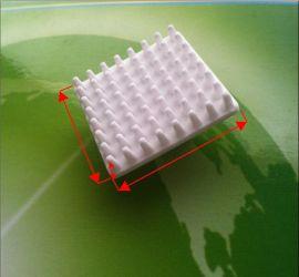 超高导热氧化铝陶瓷电子散热片、CPU碳化硅散热片