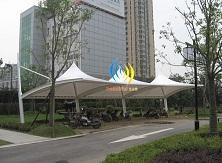 河南郑州车棚-汽车停车棚