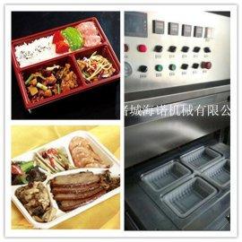扣肉碗装真空封口设备 东坡肉气调保鲜托盒式真空包装机