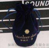 厂家直销 精美便携式首饰袋 零钱袋束口袋 定制纪念袋  小绒布袋