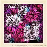 【廠家直銷】原創的現代家居工藝裝飾畫--花卉玻璃畫