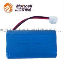 6.4v磷酸铁锂电池 18650矿用产品锂电池 太阳能草坪灯庭院灯铁锂电池组