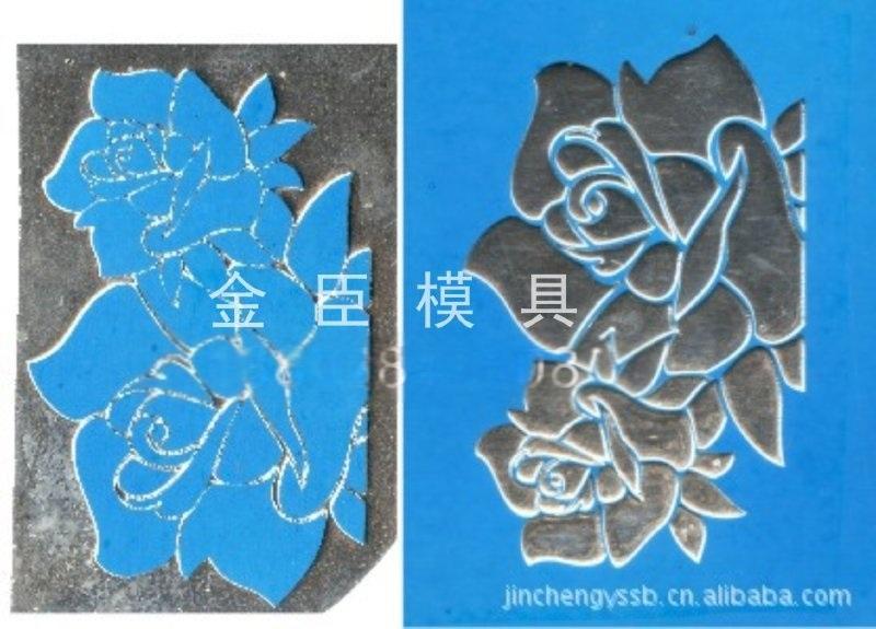 三维立体浮雕烫金版 锌板烫金 镁版烫金浮雕-232