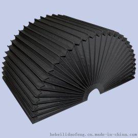 耐磨伸缩式柔性风琴防尘罩 防护罩 (机床附件生产厂家)