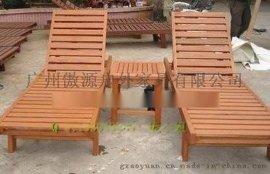 厂家**生产批发零售沙滩椅 实木沙滩椅款式多样可订做户外家具