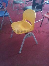 学生塑钢椅子尺寸,广东鸿美佳厂家优惠批发学生塑钢椅子