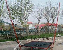 儿童钢架蹦极床单人蹦极方形儿童跳跳床
