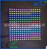 厂家直销WS2812B 8*8 8*32 16*16 像素屏 软屏 现货供应 全彩灯带